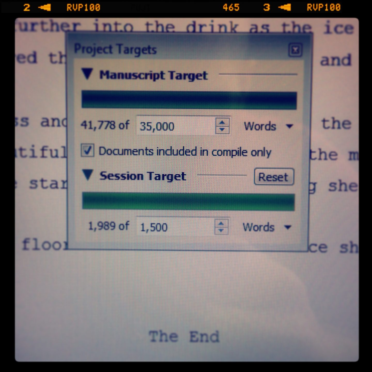 The Girl Alone – 1st Draft Completed
